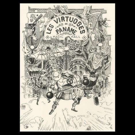 Arnaud Poitevin, Les Spectaculaires, Tome 1, Le Cabaret Des Ombres