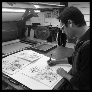 Arnaud Poitevin, Les Spectaculaires, Pétronille à l'atelier…