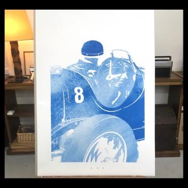 """Lorenzo Eroticolor – Bugatti - """"Automotive Art"""""""