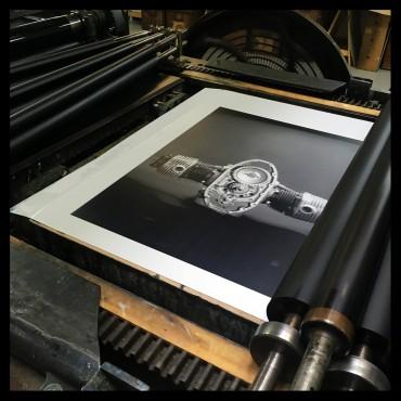 """Photolithographie, BMW - """"Moteur BMW"""", Éditions Anthèse,"""