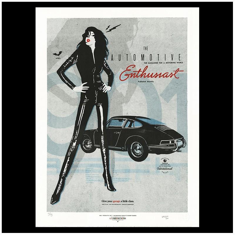 "Lorenzo Eroticolor – Porsche 901 Enthusiast - ""Automotive Art"""