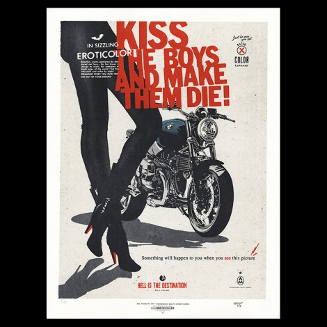 "Lorenzo Eroticolor – BMW 9T - ""Kiss The Boys and Make them Die!"""