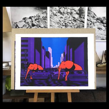 Filips - Mumbo Jumbo - Lithographie