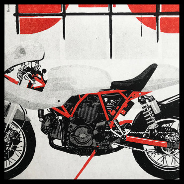 "Lorenzo Eroticolor – HEROES - ""Ducati Speed Age"""