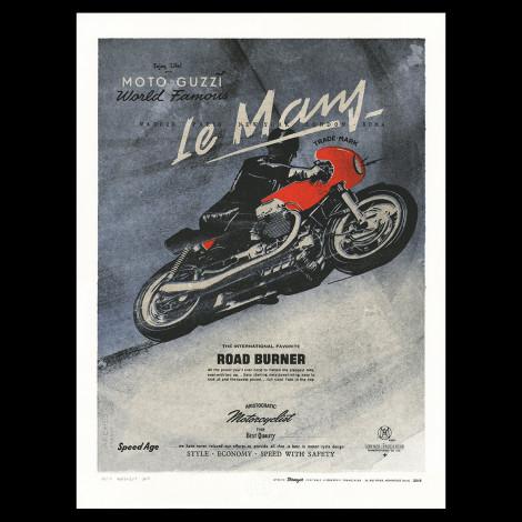 """Lorenzo Eroticolor """"Moto Guzzi Le Mans"""""""
