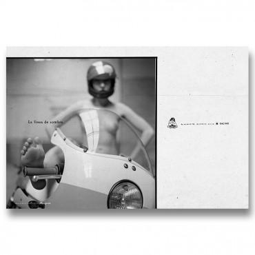 Aristocratic Motorcyclist Magazine , numéro ZÉRO, by  Lorenzo Eroticolor