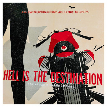 "Guzzi - ""Hell is the Destination"", 2020, by Lorenzo Eroticolor"