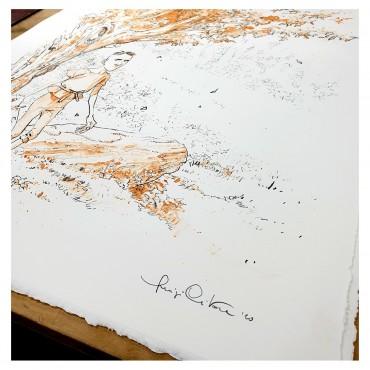 Signée et numérotée au crayon par l'artiste.
