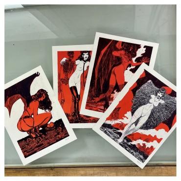 Les Diaboliques, Aradia, Naama, Balam et Lilith