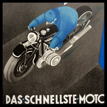 Affiche BMW Motorrad bmwmotorrad bmwmotorrad_france bmwclassic BMW Moto Editions Anthèse Anthese Nicolas_Draeger