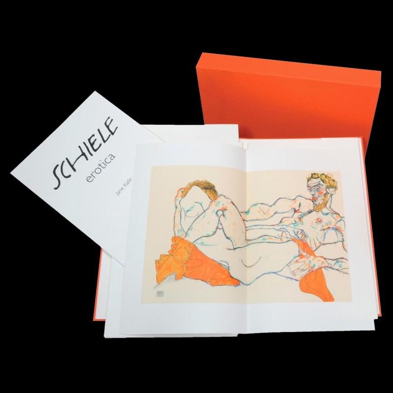 Erotica, Egon Schiele, lithographie, Éditions Anthèse, Lithographie Schiele