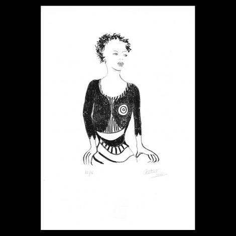 Lithographie de Catherine Starkman