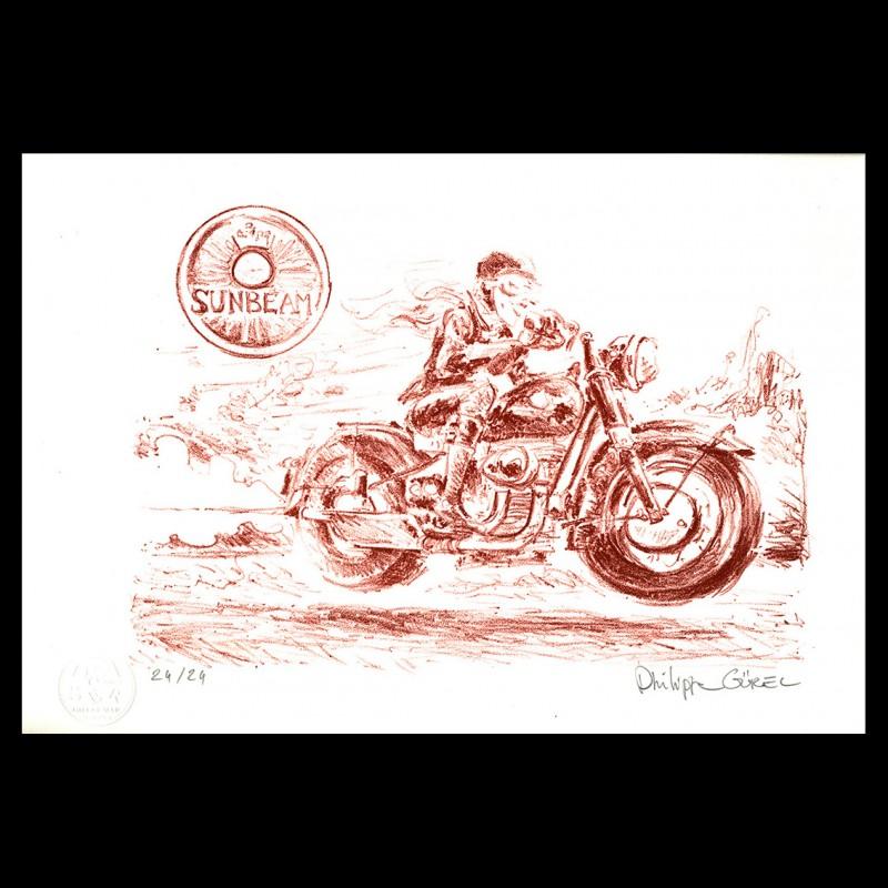 Lithographie de Philippe Gürel