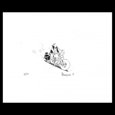Lithographie de Frank Margerin