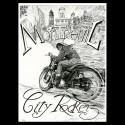 """Denis Sire, Montreuil City Rockerz """"Café Racer 2017"""""""